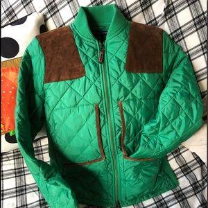 Ralph Lauren Equestrian Quilted Jacket.